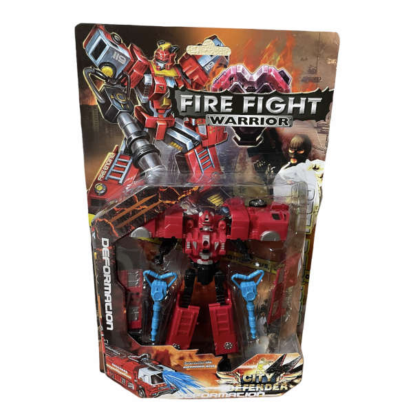 FIRE FIGHT, WARRIOR, Robots