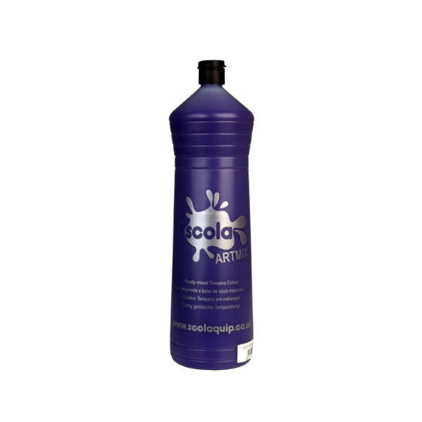 SCOLA ARTMIX PURPLE, 600 ml., Tempera krāsas
